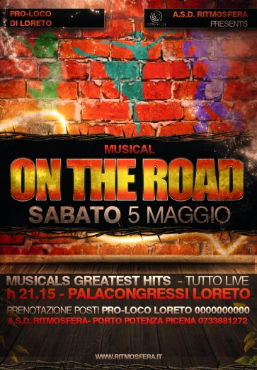 musical on the road locandina